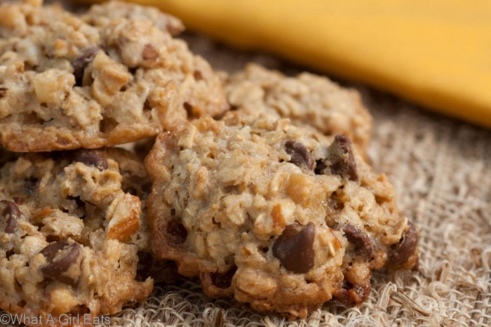 flourless caramel oatmeal cookies