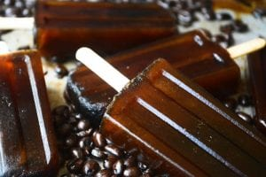 Turkish Coffee Popsicles