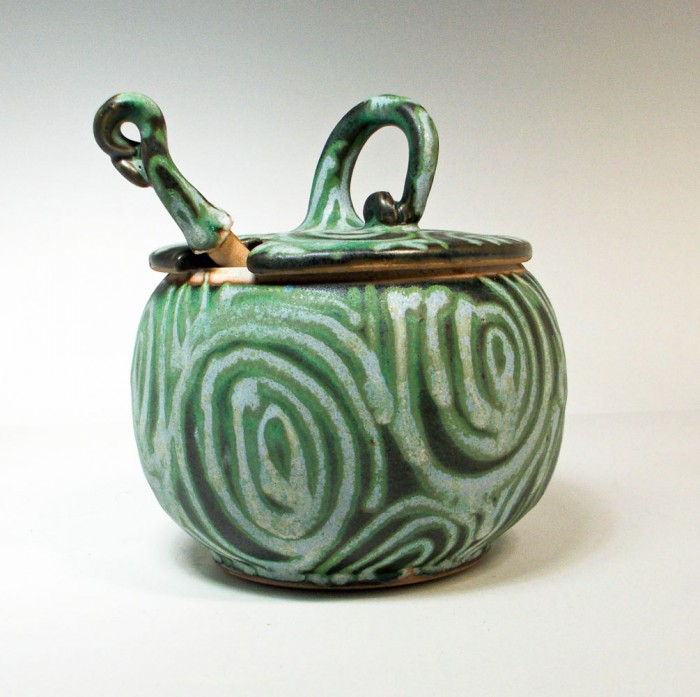 American Artisans honey pot