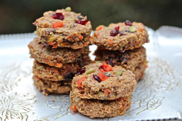 Healthy Flourless Breakfast Cookies