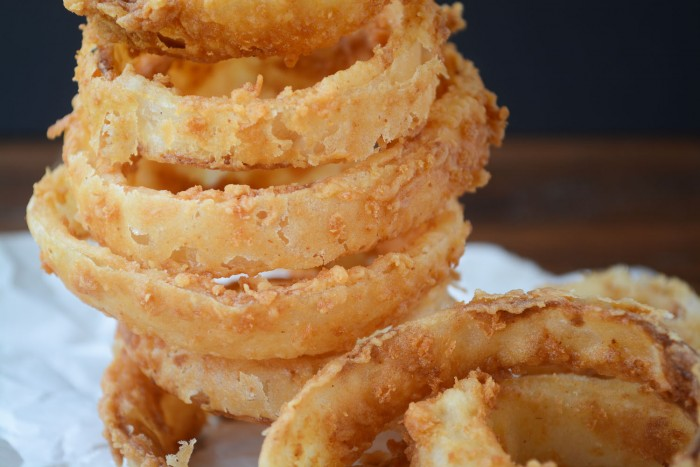 crispy sweet Walla Walla onion rings