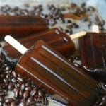 sultry Turkish coffee popsicles