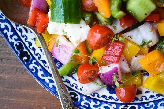 Chunky Israeli Salad