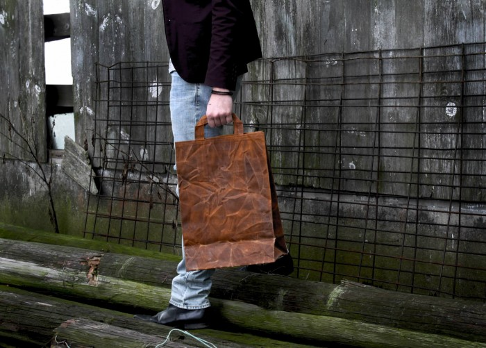 American Artisans: Italic Waxed Canvas Bag