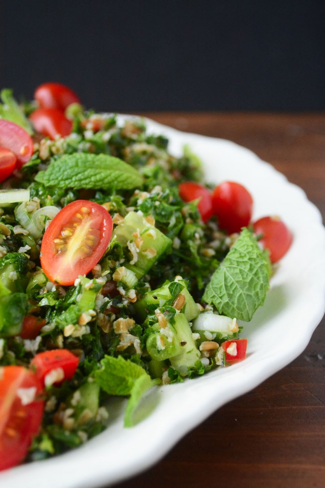 tabbouleh salad is the perfect salad for barbecues and picnics!