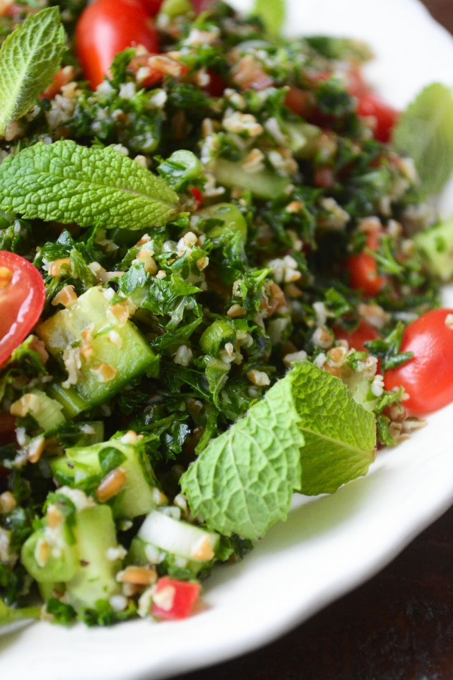 Healthy Tabbouleh Salad is part of the Mediterranean Diet