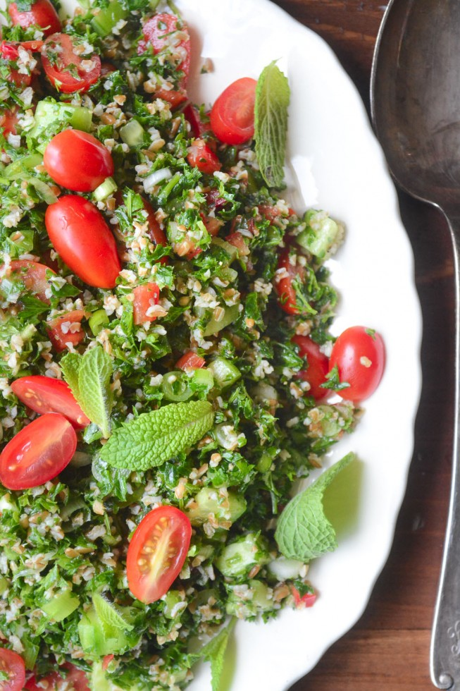 A Classic Tabbouleh Salad is a summertime staple