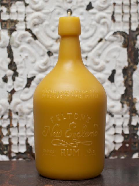 American Artisans PollenArts Rum Bottle Candle