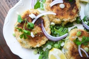 Irish Fish Cakes with a homemade Tartar Sauce