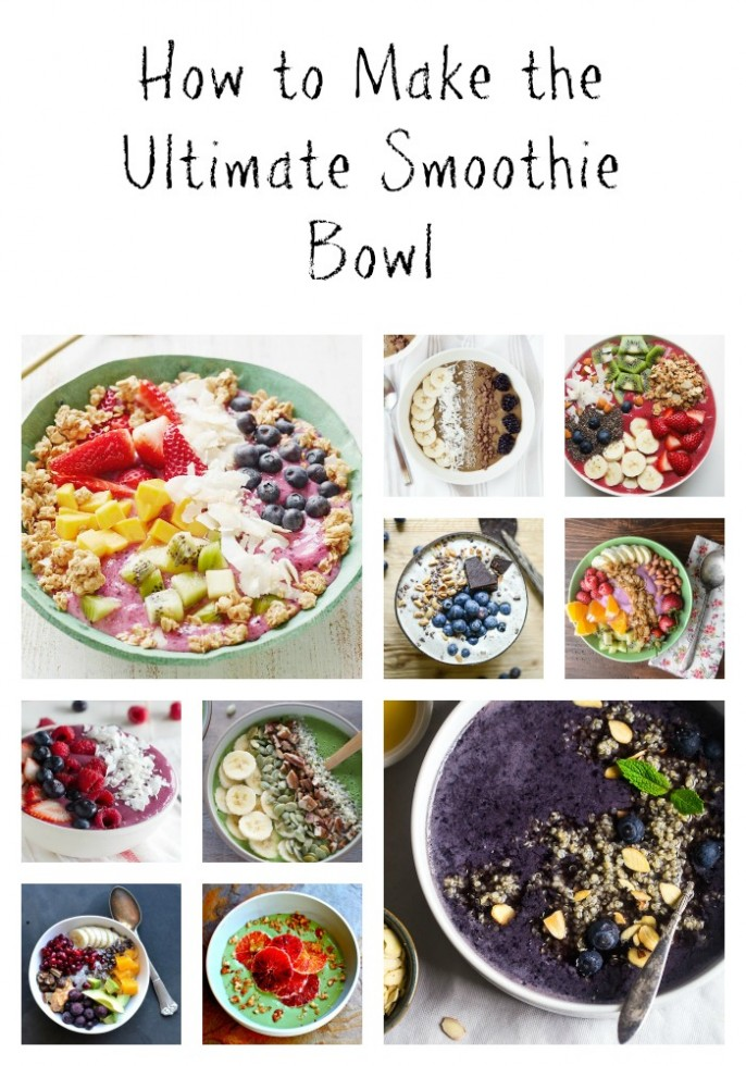 15 Fabulous Breakfast Smoothie Bowls