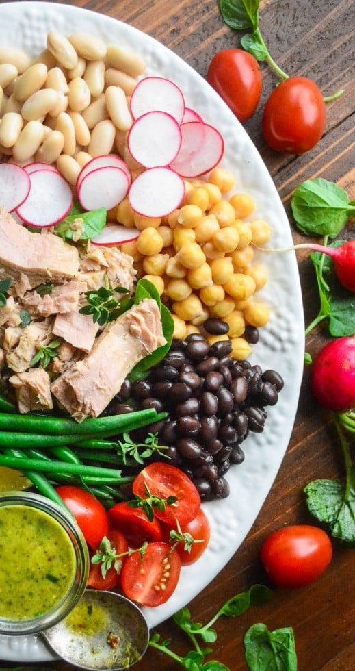 olive oil packed tuna salad