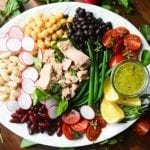 Mediterranean Tuna Salad with Tarragon Vinaigrette