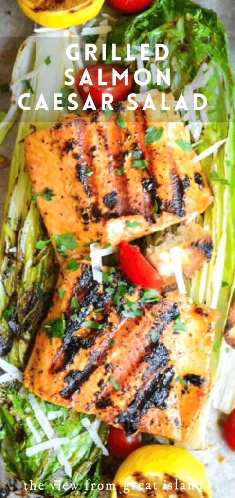 salmon Caesar salad pin