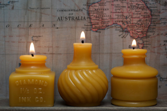 American Artisans small beeswax candles