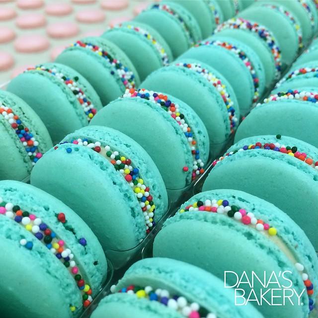 Custom order Dana's Bakery macarons