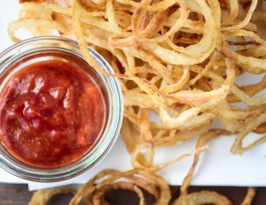 Sweet Vidalia Onion Strings make the perfect appetizer