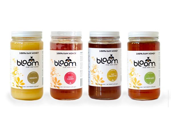 Bloom pure raw honey