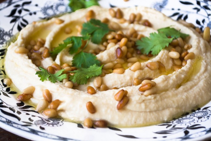 hummus is the world's most perfect appetizer!