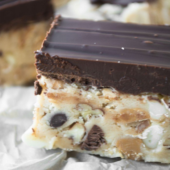 No-Bake I Want to Marry You Cookie Dough Squares
