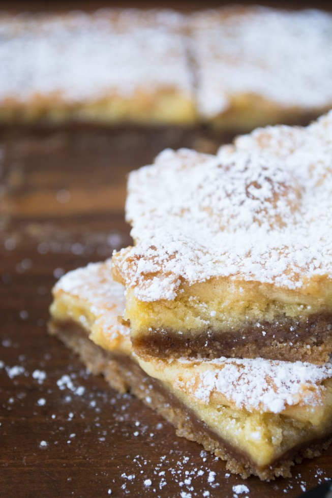 Crack Pie Bars are patterend after Milk Bar's famous Crack Pie --- only they're so much easier to make!