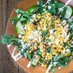 Striking Mexican Street Corn Salad