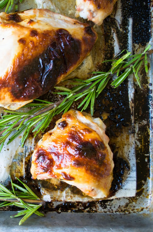 Honey Buttermilk Roast Chicken | The View from Great Island