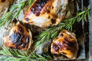 Honey Buttermilk Chicken with Roasemary