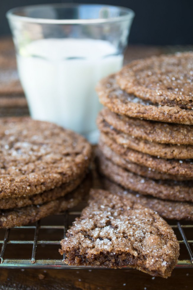 Chewy Chocolate Ginger Cookies are the perfect way to kick off fall baking!