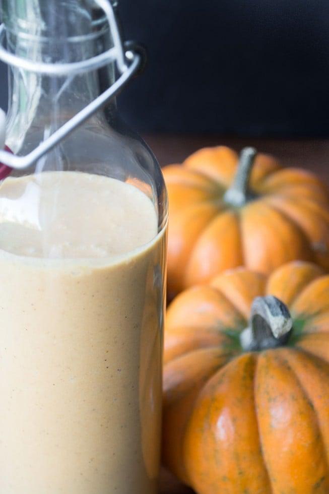 Creamy Pumpkin Liqueur
