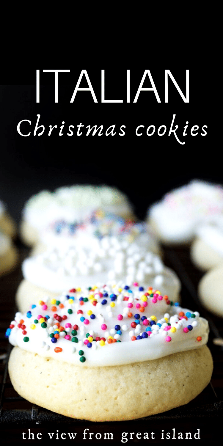 Reader's Recipes: Italian Christmas Cookies pin.