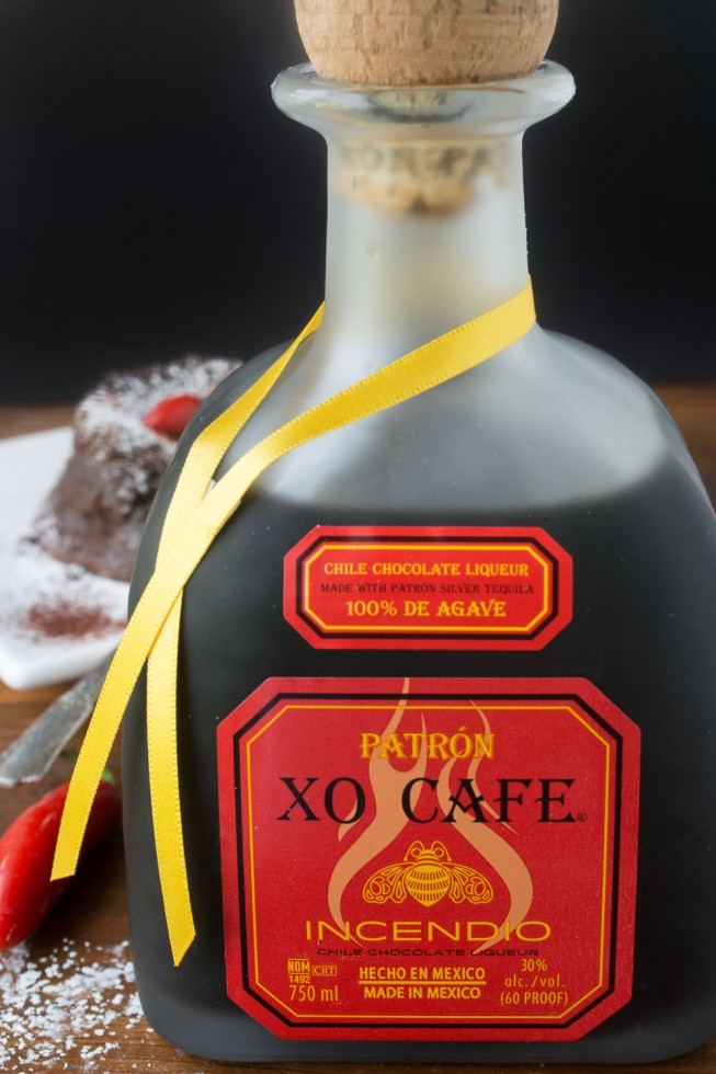 Patrón XO Cafe Incendio chocolate chile liqueur