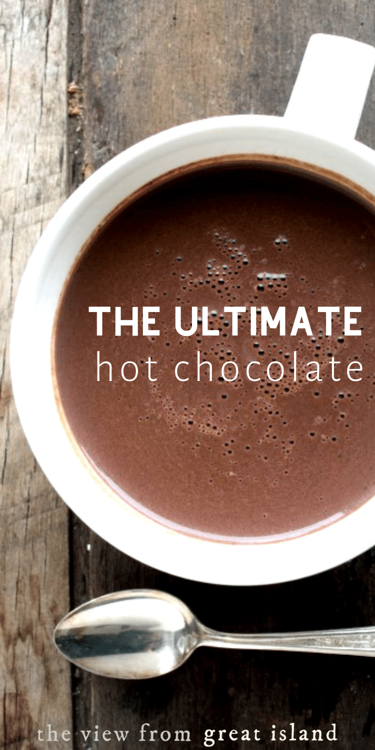 The ultimate hot chocolate pin.