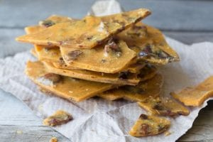 Easy Microwave Bacon Brittle