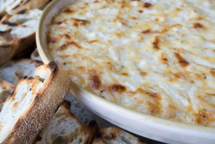 Smokey Onion Dip is an easy crowd pleasing appetizer