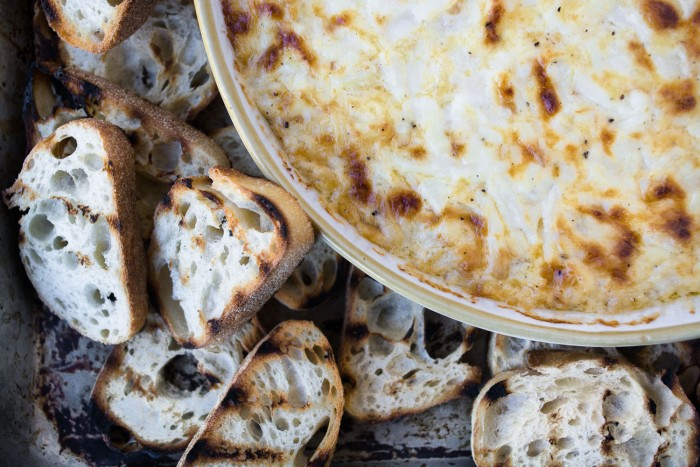 Smokey Onion Dip is an easy appetizer that goes from game night to holiday party