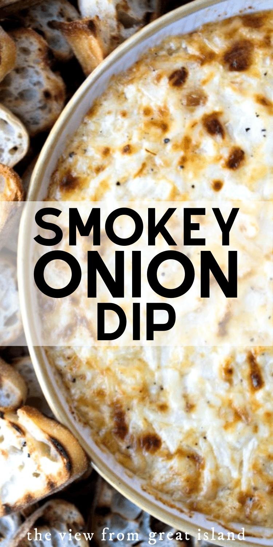 Smokey Onion Dip pin.