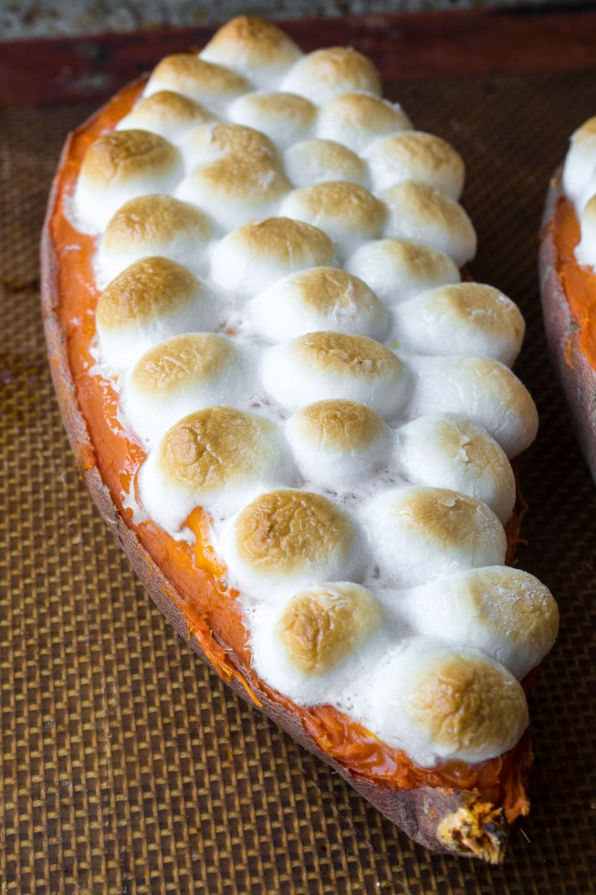 Twice Baked Sweet Potatoes --- not just for Thanksgiving!