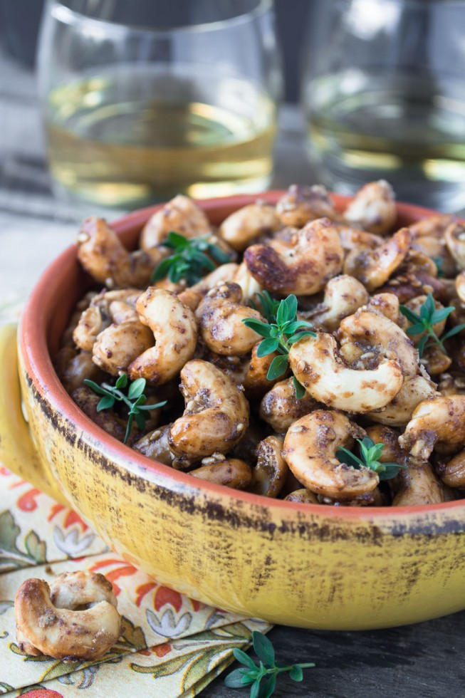 Za'atar Roasted Whole Cashews