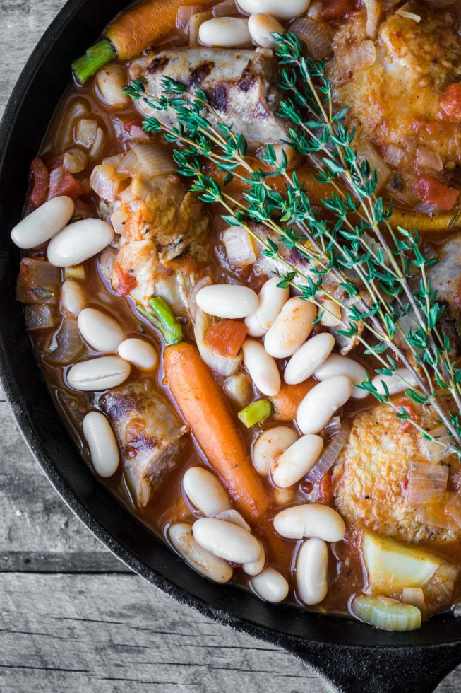 My Easy Cassoulet is a pared down version of the classic French dish and it's perfect for laid back holiday entertaining. ~ theviewfromgreatisland.com
