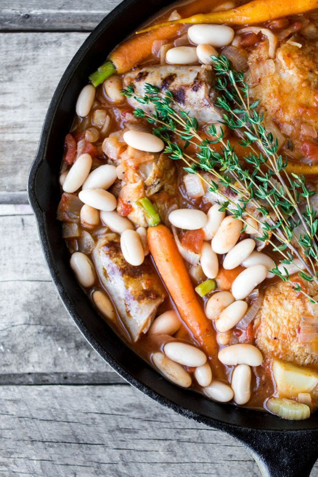 An easy and festive Cassoulet recipe