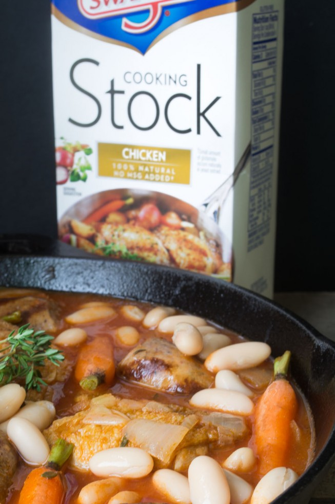 Easy Holiday Cassoulet with Swanson® Stock