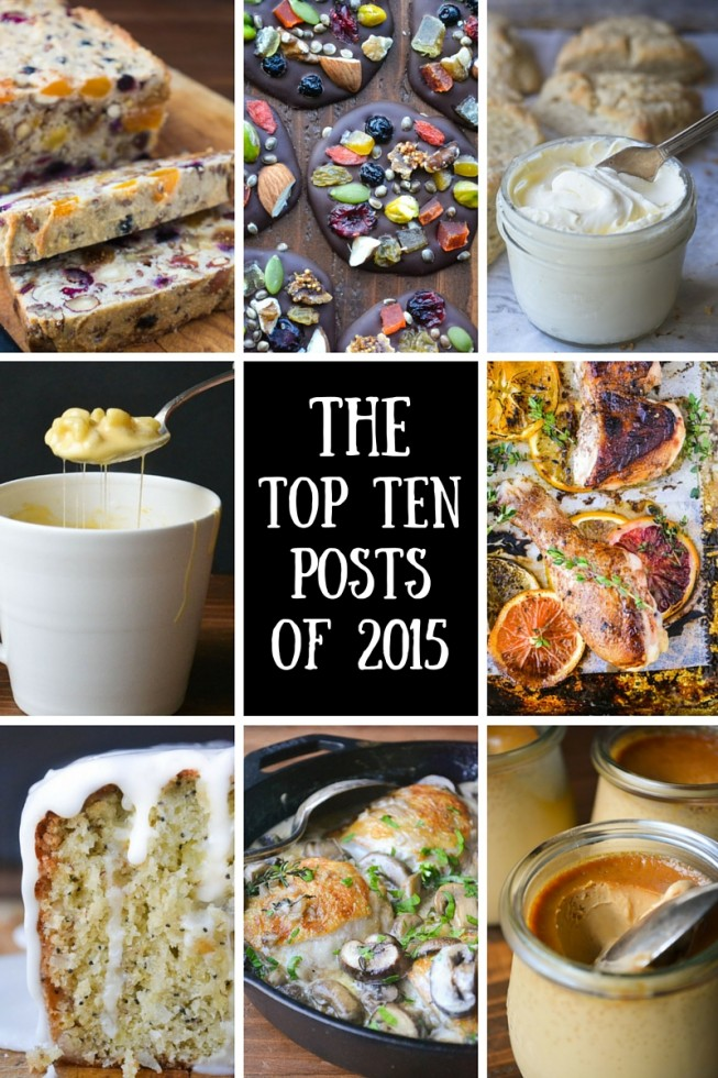 The top ten most popular posts from 2015 --- how many of your favorites made the cut?
