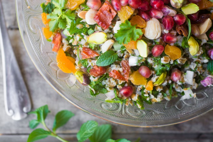 Jeweled Tabbouleh Salad