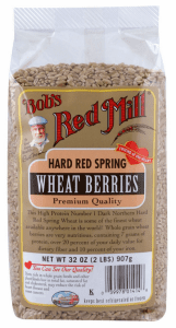 Wheat Berries from Bob's Red Mill