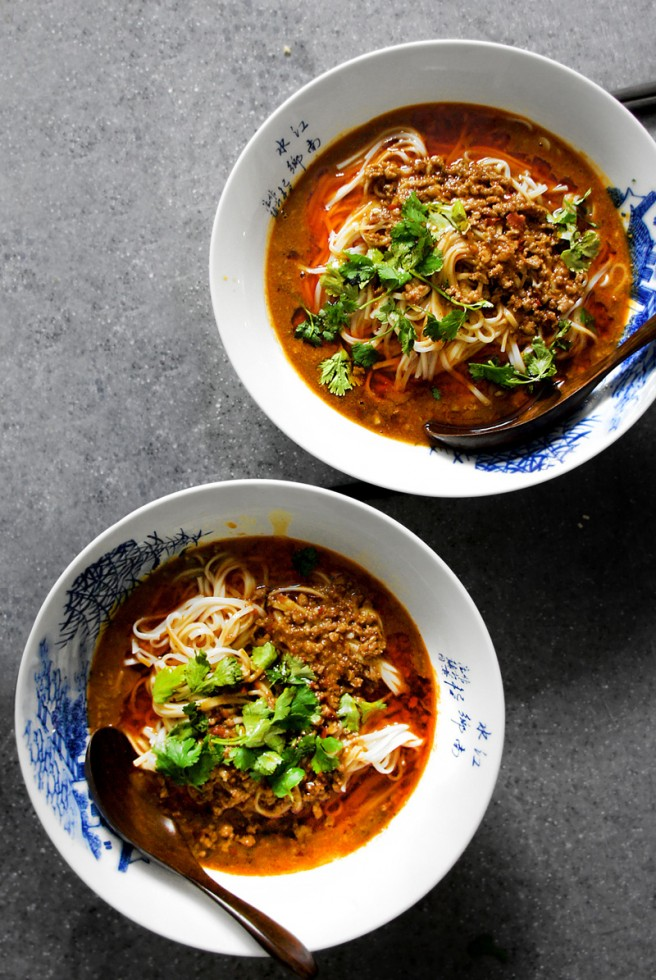 18 Ways to Celebrate the Year of the Monkey - spicy sichuan dandan noodle