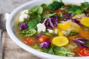 Light and healthy Detox Soup