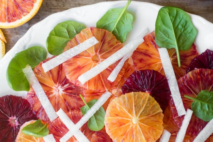 Blood Orange and Jicama Salad