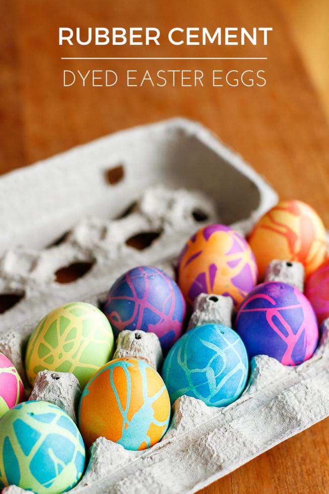 Rubber Cement Eggs | Unsophisticook