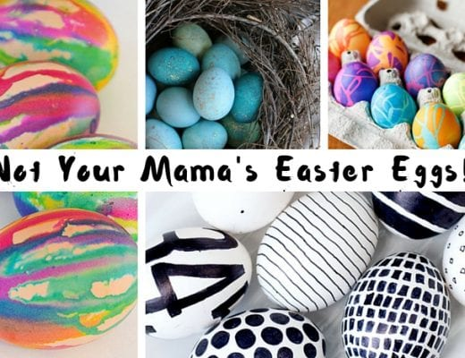 A Round Up of Exquisite DIY Easter Eggs