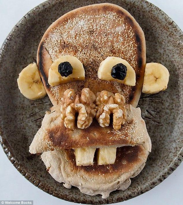 Monkey Face Breakfast | Funny Food